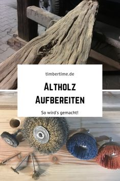 Waste wood processing - Altholz Aufbereitung This is how you have to proceed when processing waste wood! Pallet Crafts, Wood Crafts, Diy And Crafts, Wood Furniture, Furniture Design, Create A Person, Diy Tumblr, Raw Wood, Architectural Salvage