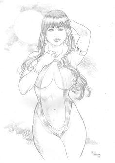 Vampirella by MarcelloHolanda.deviantart.com on @DeviantArt