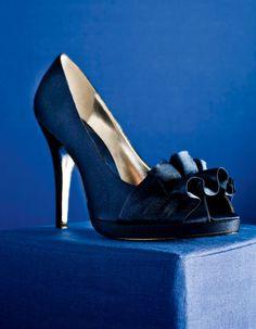#Blue #pumps