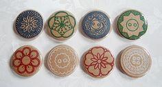 Vintage button badges | Flickr - Photo Sharing!