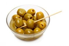 I will never be able to look at green olives the same way, ever again.