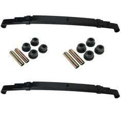 """Club Car Precedent Golf Cart Rear Hvy Duty Leaf Springs by Club Car Precedent Golf Cart. Save 15 Off!. $110.00. """"The King"""" recommends installing heavy duty springs if you currently have or thinking of installing a rear seat kit or cargo box on your golf cart. Switching out your standard springs to heavy duty will give your cart less body roll while increasing the suspension for the added weight you are carrying."""