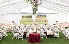 Beautiful Michigan tented wedding celebration | Rhiannon Bosse Celebrations