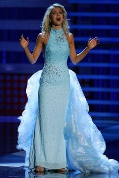 Kirsten Haglund talent; Miss America 2008; love the dress