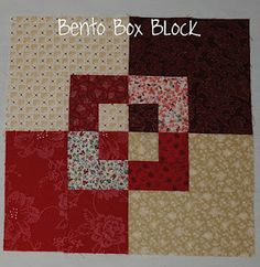Bento box free Tutorial! !Sew WE Quilt!