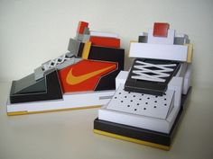 Sneackers paper toys