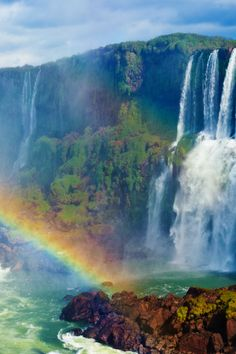 tulipnight:  Iguazu Falls byAnna Theodora