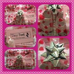 Baby girl gift spoiling mum too! Mother and Baby Girl Hamper from www.tinyfeethampers.co.uk  Deliver UK #babygirl #babygift