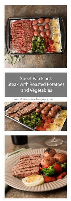 Sheet Pan Flank Stea