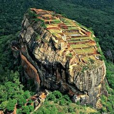 Sirigiya Rock, Sri Lanka