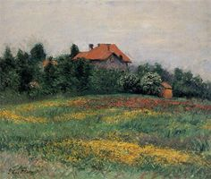 Paisaje normando, 1884 - Gustave Caillebotte
