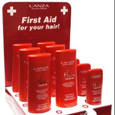 Trauma Treatment by Lanza, best leave in hair repair EVER