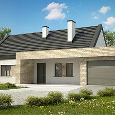 Bungalow Conversion, Small House Design, Dream House Plans, Scandinavian Home, Loft, Exterior Design, Home Projects, My House, Outdoor Structures