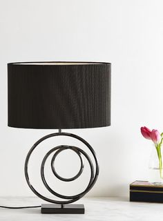 Gunmetal Haddon Table Lamp