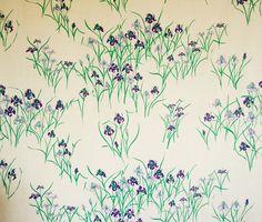Tania Vartan iris painted textiles