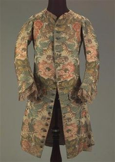 Jacket, first half of the 18th century, Centre de Documentació i Museu Tèxtil.