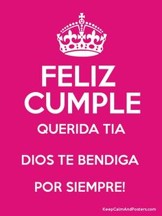 feliz cumpleaños tia querida dios te bendiga 2