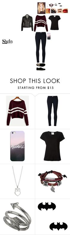 """""""Join and win a Burgundy Sweater with Shein"""" by leacousty55 ❤ liked on Polyvore featuring Frame Denim, Casetify, Vans, Forte Forte, Bling Jewelry and Topshop"""