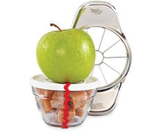 Apple Wedger and 1-cup Prep Bowl (6 bowls in the set)  Add an apple and some caramels and you've got a sweet gift for any teacher!  #StockingStuffers #TeacherGifts #HolidayGifts #Giftsunder$20