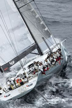 """Sailing  One of the latest """"War Wagons"""" of sailing"""