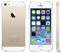 NEW UNLOCKED APPLE iPHONE 5S GOLD 64GB 8MP IOS8 MULTITOUCH SMARTPHONE + GIFTS
