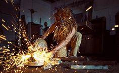 Mako Miyamoto's everyday Wookiees: Metalworking Wookiee