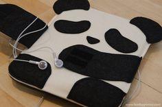 So cute! Panda iPad and iPhone cases!