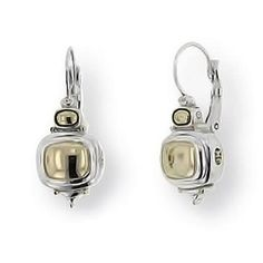 John Medeiros - Gold Dome French Wire Earrings