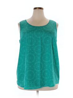 Check it out—Faded Glory Sleeveless Blouse for $7.99 at thredUP!