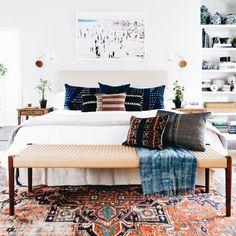 Vibrant color rug