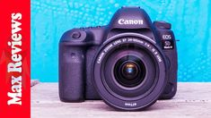 Best Dslr, Best Camera, Dslr Camera Reviews, Cool Tech, Tech Gadgets, Fujifilm Instax Mini, Canon Eos, Lens, Youtube