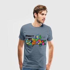 Mindset Shark - Follow your dream - Men's Premium T-Shirt