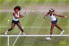 TENNIS WITH THE WILLIAMS SISTERS!