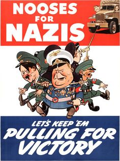 Nooses for Nazis. #wwii #vintage #truck