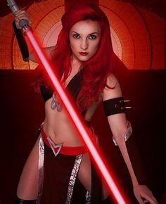 Sith female red hair