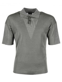JIL SANDER Jil Sander Silk Polo Shirt. #jilsander #cloth #https: