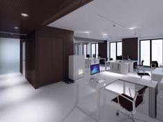 Tarptautinės įmonės biūro interjeras. Vilnius / ARCH-1