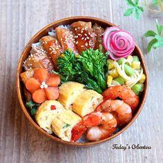 SnapDishサン 男子高校生お弁当 …季節感&多品目&色合い✨