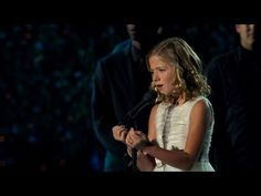 Jackie Evancho sings The Lord's Prayer.  jesus-loves-you.org
