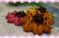 Spritz Flower Cookies
