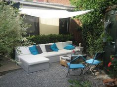 Zen lounge from pallets #Garden, #Lounge, #Sofa