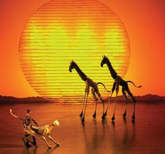Lion King. Most spectacular use of puppetry, scenery, staging and set I've ever seen. beat-camp.co.uk