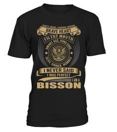 BISSON - I Nerver Said