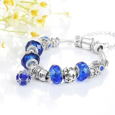 Authentic PANDORA Silver Bracelet with European от HappyWomanGifts