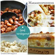 Makaronipudding - Enkelt och gott   Perfekt att tillaga av kokta makaroner som blivit över efter gårdagens middag till exempel.     Ing...