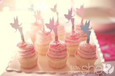 Fairy Birthday Party Games: 1. The fairies played musical chairs with flowers. 2. The mother fairy put all of her fairies to sleep with a magic wand. If they moved, they were 'out'. The last sleeping fairy won.