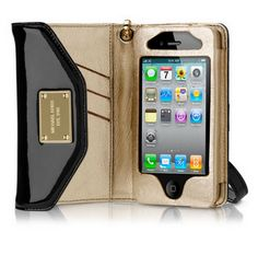 Michael Kors Iphone Case Wristlet, chich