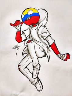 Hetalia, Colombia Country, Mundo Comic, Country Men, Human Art, Mexican Art, Drawing People, Drawing Reference, Kawaii Anime