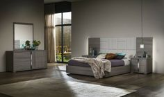 ALF Contemporary Bedroom Set Gaia