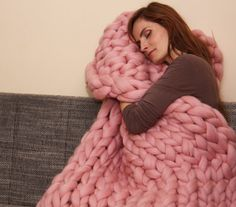 Cozy blankets always make great gifts for Mother's Day.